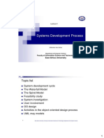 Lecture 3 (Systems Development Process)