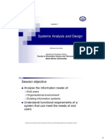 Lecture 1 (System Analysis and Design)