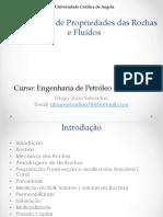 Laboratorio Da Propriedade Das Rochas e Fluidos 2018v1
