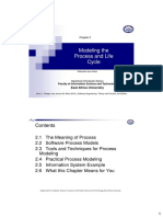 Chapter 2- Modeling the Process and Life-Cycle