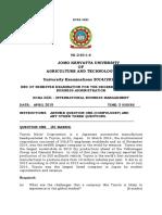 Hcba 3221 International Business Management(1)