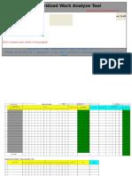 Standardized Work Analyze Tool v.2.7