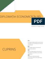 Diplomaţia Economică În REI