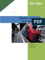 APUNTES DE FÍSICA PARA 4º AÑO Tercer fascículo
