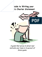 A Guide to Writing Your Team's Charter[1]