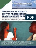 ilegalidades das medidas contra professores