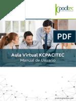 Manual de Usuario Aula Virtual KCPACITEC