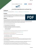 Creating a SQL Serv