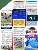 Oficina Farmacéutica(Triptico)