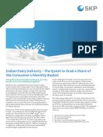 Indian Dairy Industry Skp Group