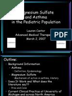 Asthma Magnesium