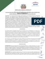 Acta de Planificación Estratégica de La Protección Social No Contributiva