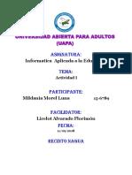 TAREA I TECNOLOGIA APLICADA A LA EDUCACION (2).docx