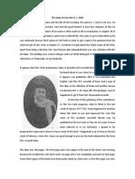 Diary of Sri H.S.Dixit