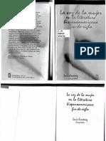 Luis A. Jiménez compilador - La voz de la mujer en la literatura hispanoamericana fin-de-siglo (1999).pdf