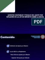 Presentacion de Ajuste Por Inflacion