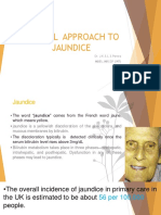 an approach to a patient with Jaundice