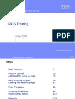 CICS Training July 2009
