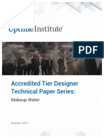 2017_Accredited Tier Design Technical Paper Series _ Makeup Water