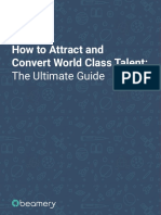Attract and Convert World Class Talent