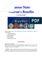 Vet State Benefits - KS 2019