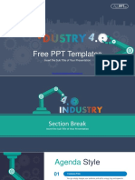 Industry 4.0 Revolution PowerPoint