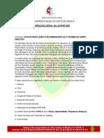 Acta Da 2ª Reunião Do Corpo Directivo