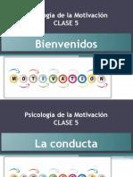 Clase 5 - Psicología de La Motivación