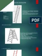 Gráfico de Tipos de Escalera