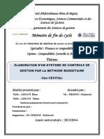 Elaboration d'un système de contrôle de gestion par la méthode budgétaire.pdf