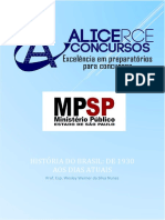 Apostila - Mpu Historia Do Brasil