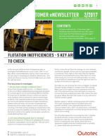 1. Flotation Inefficiencies 5 Key Areas
