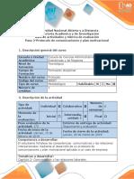 Guia de Actividades y Rubrica de Evaluacion - Paso 2 - Protocolo de Comunicaciones y Plan Motivacional