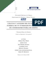 PAES - Cálculo y análisis del flujo en una turbina de un turbogrupo operando en condiciones fuera....pdf