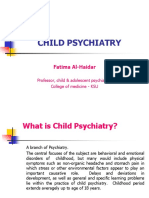 Child Psychiatry by Dr. Fatima