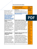 Ficha de Investigación Química