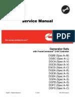 Cummins Onan DGFB Generator Set with Power Command 2100 Controller Service Repair Manual.pdf