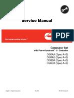 Cummins Onan DSKCA Generator Set with Power Command 1.1 Controller Service Repair Manual.pdf