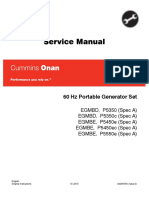 Cummins Onan EGMBD P5350 60 Hz Portable Generator Set Service Repair Manual.pdf