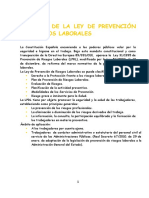 RESUMEN DE LA LEY DE PREVENCIÓN DE RIESGOS LABORALES