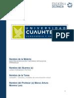 Canales y Modelos de Comunicación VirtualV2