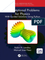 Rubin H. Landau_ Manuel Jose Paez-Computational Problems for Physics_ With Guided Solutions Using Python (Series in Computational Physics)-CRC Press (2018).pdf