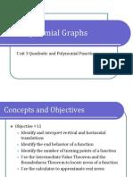 3-3 Polynomial Graphs (Presentation)