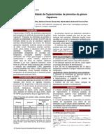 Composição Bromatológica Da Pimenta Malagueta in Natura e Processada Em Conserva