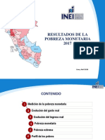 Presentacion Evolucion de Pobreza Monetaria 2017