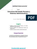 Estructura Del Estado Peruano y Sistemas Administrativos