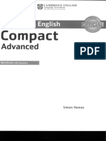 Compact Advanced Workbook With Answers 2015