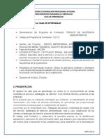 GFPI-F-019 Formato Guia de Aprendizaje 3 Servicio Al Cliente