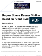 Report Shows Drones Strikes Based on Scant Evidence _ Information Clearing House_ ICH