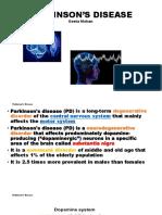 Parkinson's Disease Ppt